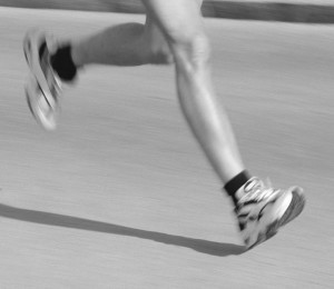 marathon running legs